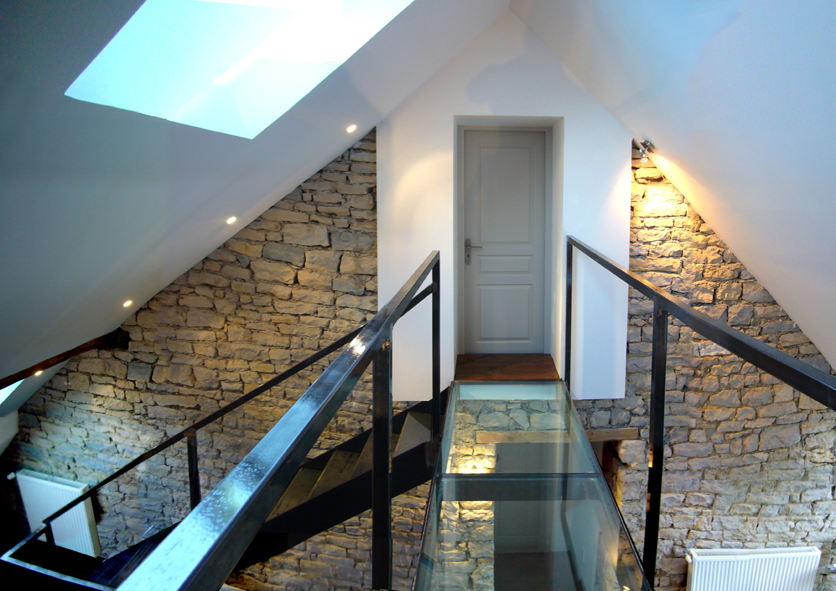 Renovation Grange Amenagement Loft Divercity Entreprise